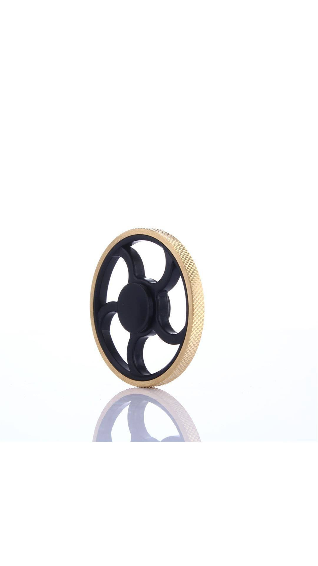 What are Fidget Spinners? How do to they work? Buy one today on Paytm for Rs.49 - Buy Round Fidget Hand Spinner Torqbar Brass Finger Toy EDC Focus Gyro Gift Paytm Mall Deal