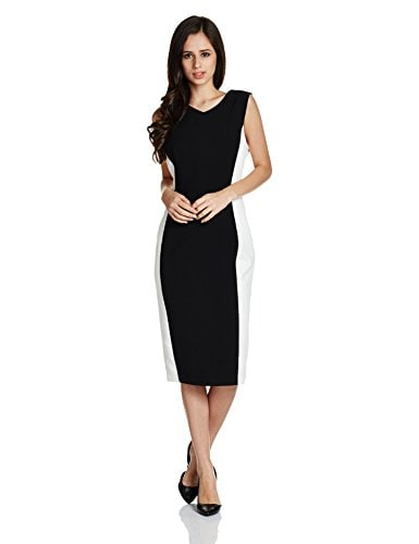 Adorn Corporate Look Like Kajol Did in VIP 2, Ways to Style for Office, Ace Professional Look - Marks & Spencer Women's Shift Dress Amazon Deal