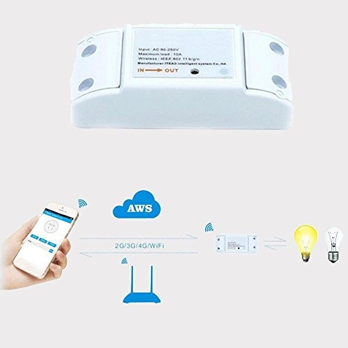 Gadgets to Help the Elderly: Cool Gadgets For Elderly on World Senior Citizen Day - Smart Wifi Wireless Switch Intelligent Cell Phone Wireless Remote Control Switch Amazon Deal