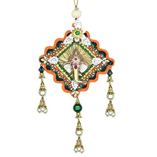 Celebrate Independence Day in Style this Year - Tricolour Ganesha Hanging Amazon Deal