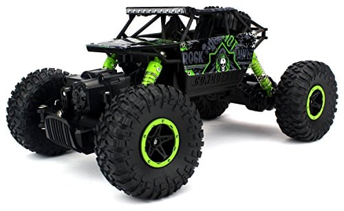Types of Remote Control Toys For Your Kids - HB Mousepotato Rock Crawler Off Road Race Monster Truck Amazon Deal