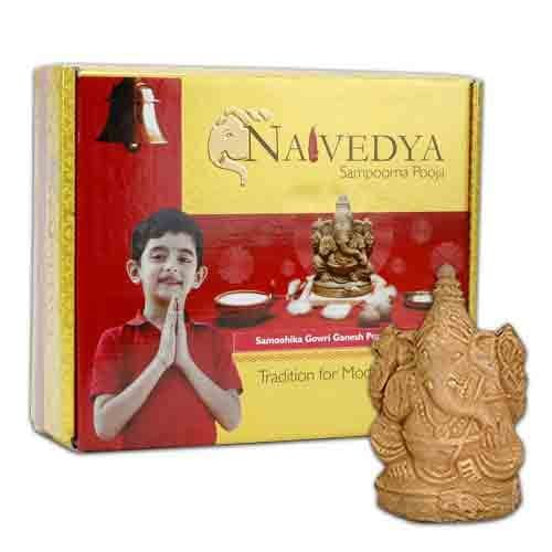 Switch to Eco Friendly Ganesh Idols for This Ganesh Chaturthi 2017 - Eco Friendly Clay Lord Ganesha Idol Amazon Deal
