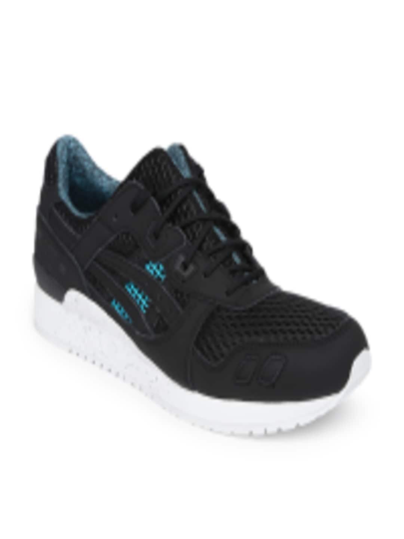 ASICS Tiger Unisex Black Gel Lyte III Running Shoes Myntra Rs. 5499