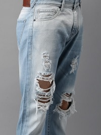 Ripped Jeans For Men Style The Ripped Distressed Denims The Perfect