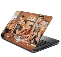 Best TV Series : Behind the Scene Revelations and Other Interesting Facts About these Top 5 TV Series - Laptop Skin from the Series Friends at a Rs.500 Cashback Amazon Deal