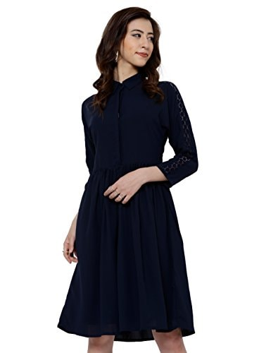 How To Ace Your Look For Your Child's School Admission, It's School Admission Time again And We Have The Best Styling Tips for you! - Tokyo Talkies Women's A-Line Dress Amazon Deal