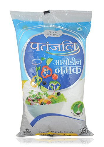 Top 10 Popular Patanjali Products That Promise to Change Your Life, List of the Must Buy Patanjali Products - Patanjali Salt - 1kg Pouch Amazon Deal