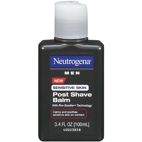 Best Aftershave Balms For Men To Calm Your Razor Burns - Neutrogena Men Sensitive Skin Post Shave Balm Amazon Deal