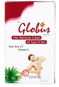 5 Best Hair Removal Creams For Women. Unwanted Hair Removal Creams and Gels, The Best Alternative to Shaving - Globus NEEM and TULSI Hair Removal Cream Flipkart Deal