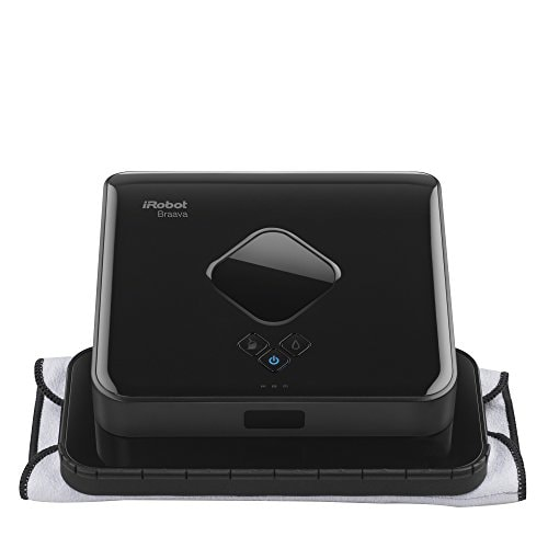 Best Cleaning Robots to Buy this Diwali 2017, Upgrade Your Cleaning Game this Year With These Robots - iRobot - Braava 380t Floor Mopping Robot - Black Amazon Deal