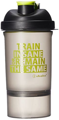 Styling Tips: Look Hot While you Workout at the Gym. We have Tips For You To Ace Your Gym Look - Ishake 20 Smart One Storage Bottle 500 ml (Soot Body, Green Lid) Amazon Deal