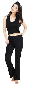 Styling Tips: Look Hot While you Workout at the Gym. We have Tips For You To Ace Your Gym Look - Nite Flite Women Yoga Pants Amazon Deal
