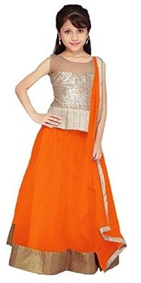 Significance Of The 9 Colours Of Navratri 2017. Adorn Yourself With These Beautiful Colours Day Wise And Look Your Best During Navratri! - Up to 50% Off on Lehenga Cholis For Girls Amazon Deal