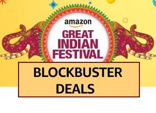 Amazon Great Indian Festival Sale: Enjoy Great Blockbuster Offers an Cashbacks on Electronics, Gadgets, Fashion and more Amazon Deal