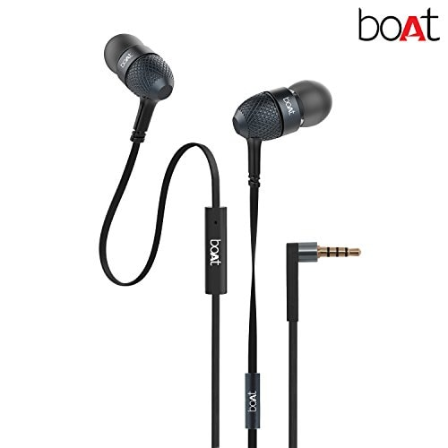 Celebrate The Spirit of Dussehra on Day 4 of the Amazon Great Indian Festival Sale - boAt BassHeads 225 In-Ear Super Extra Bass Headphones Amazon Deal