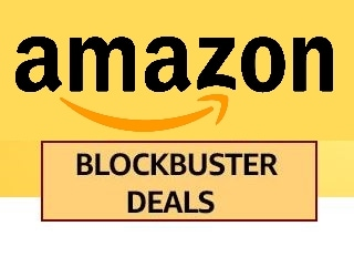 Enjoy Great Blockbuster Offers an Cashbacks on Electronics, Gadgets, Fashion and more Amazon Deal