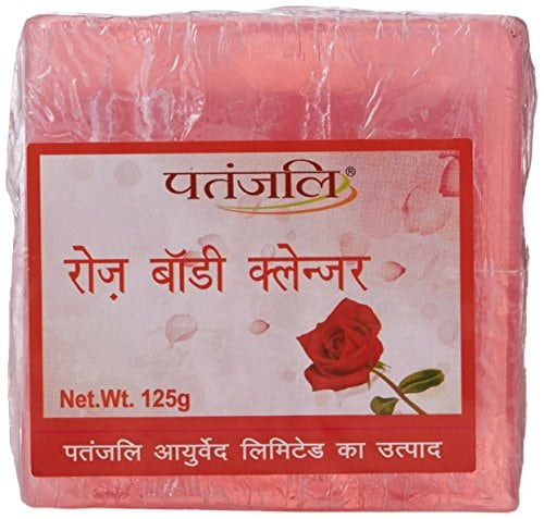 Patanjali Rose Body Cleanser, 125g Amazon Deal