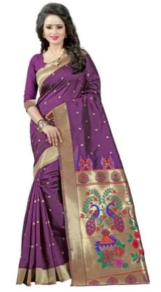 10 Types of Best Traditional Sarees, Adorn Your Wardrobe This Diwali 2017 - Up to 85% Off on Paithani Sarees Flipkart Deal