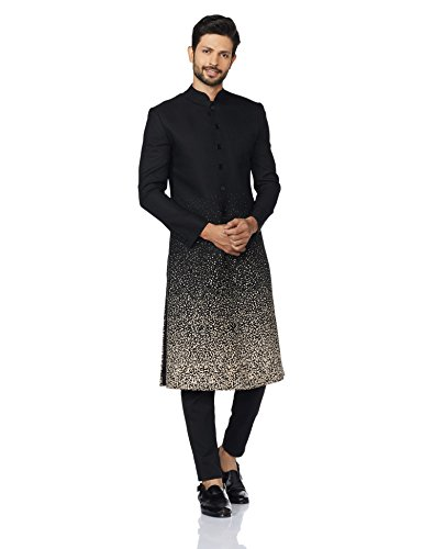 Ashish N Soni Indo Western Jacket Collection: Glam Up Your Ethnic Game - Ashish N Soni Men's Synthetic Indo Western Jacket Amazon Deal