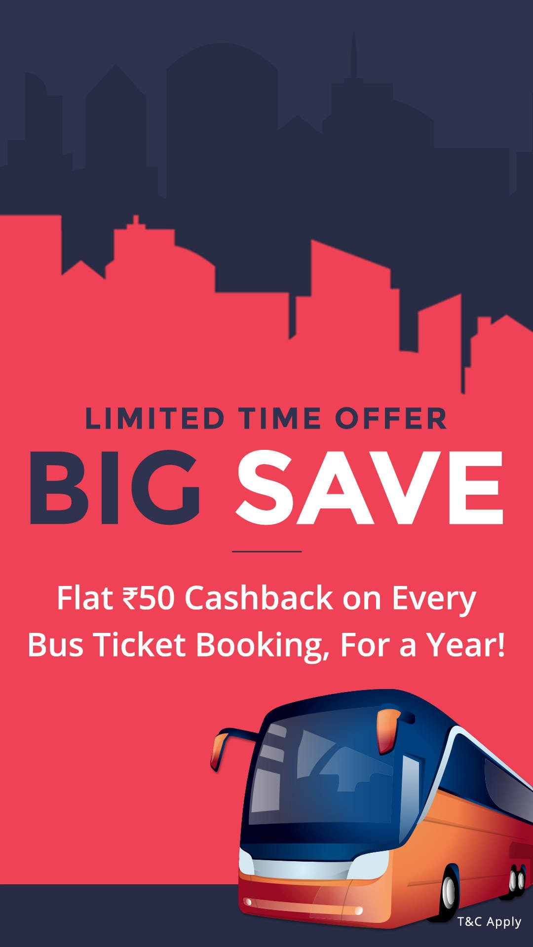 Diwali Special Offers: Amazing Paytm Travel Offers on Flights, Bus and Hotel - Save Big All Year Long - Flat Rs.50 Cashback on Every Bus Ticket Booking, for a Year Paytm Deal