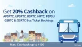Diwali Special Offers: Amazing Paytm Travel Offers on Flights, Bus and Hotel - Up to 20% Cashback on all RTC Bus Ticket bookings Paytm Deal