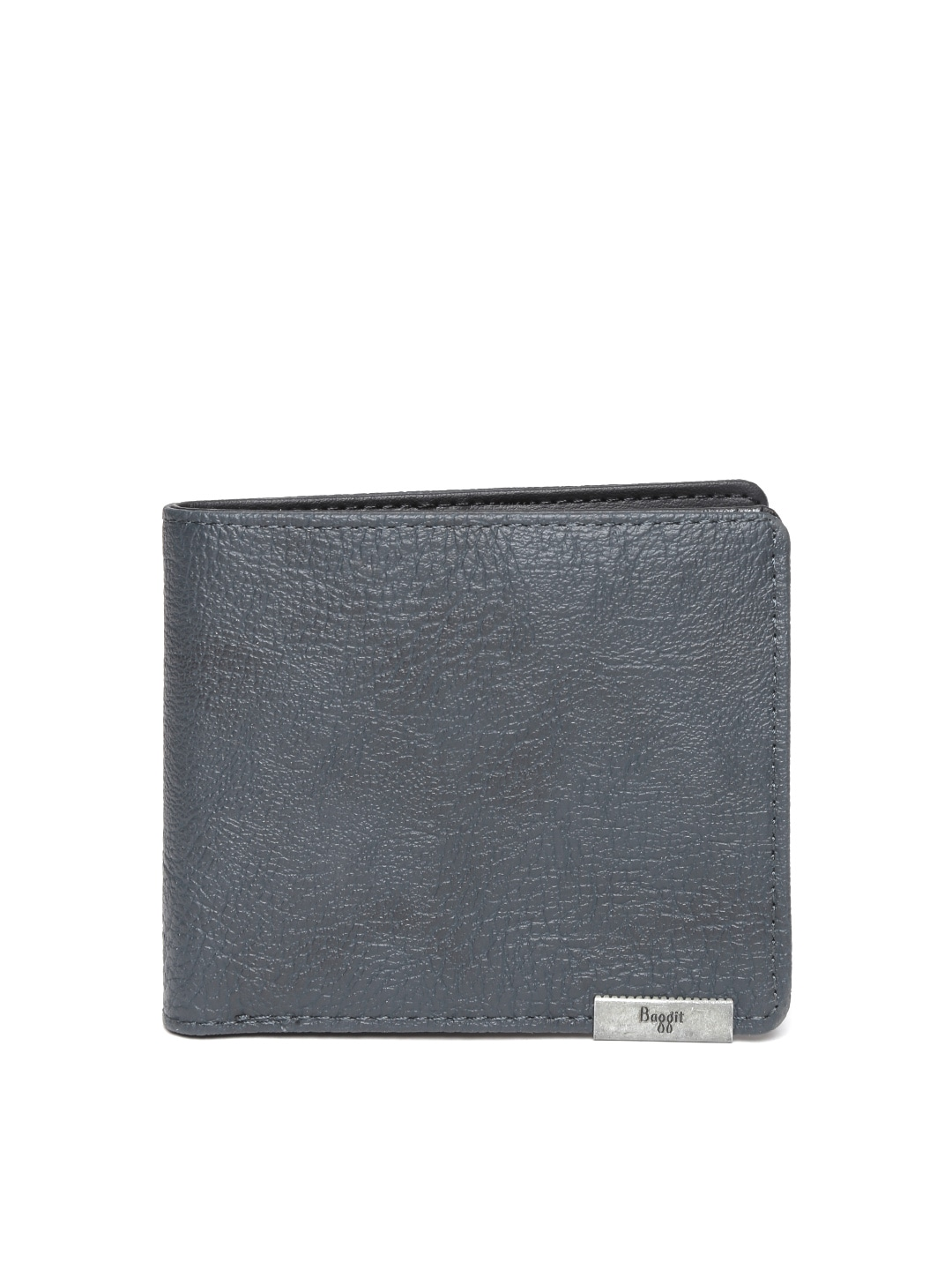 2b09aa880e66 Best Wallet for Men in India - Baggit Men Navy Solid Two Fold Wallet Myntra  Deal