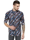 KOOVS Diagonal Stripe Shirt Koovs Rs. 259.00