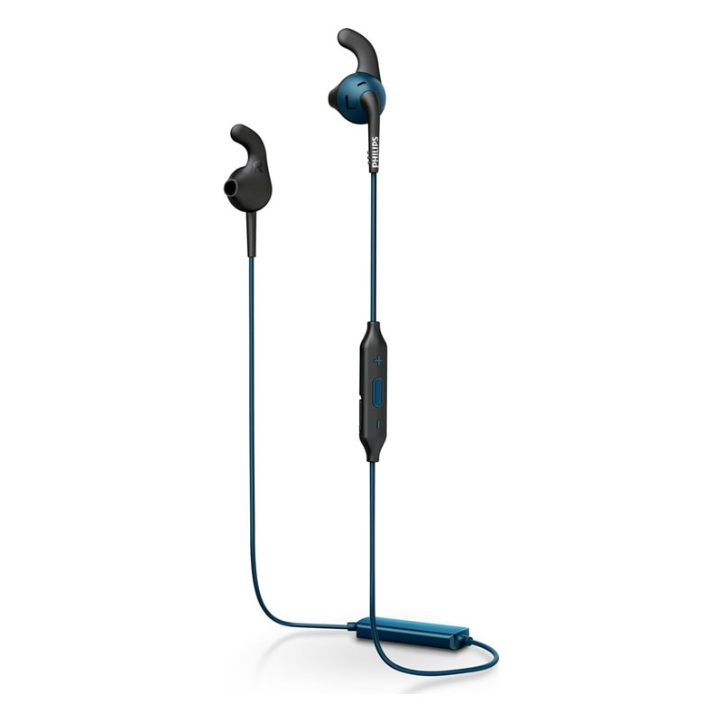 buy philips shq6500 bluetooth headset with mic blue online. Black Bedroom Furniture Sets. Home Design Ideas