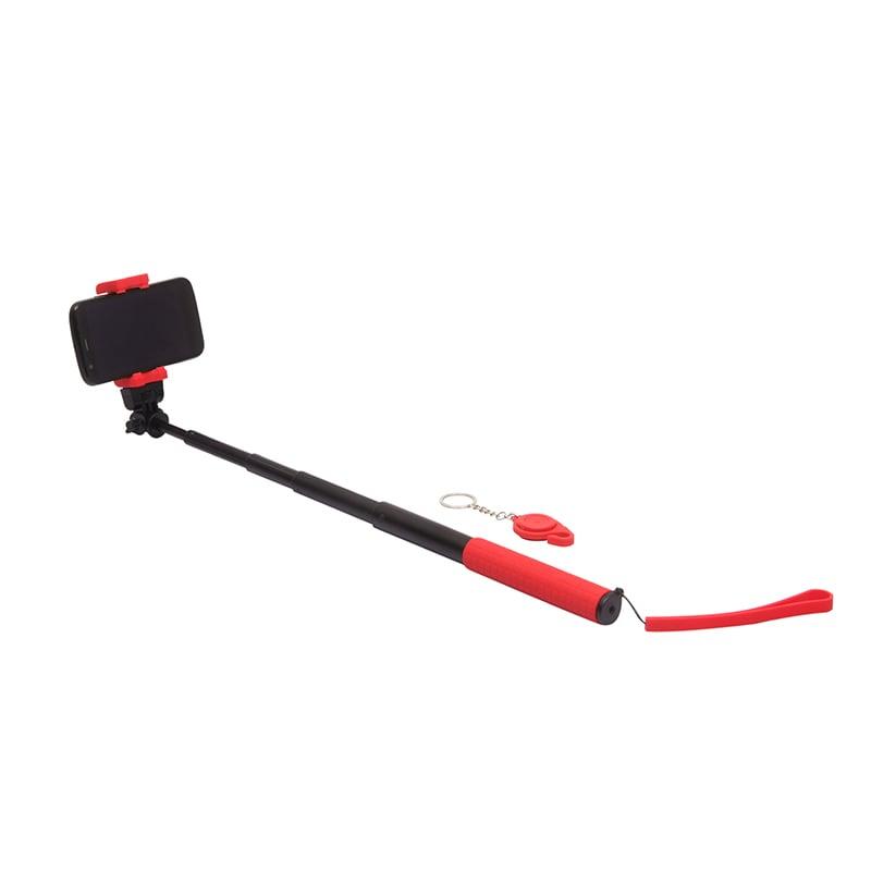 buy quirktech qstik 1020 selfie sticks for all smartphones red online india ndtv gadgets 360. Black Bedroom Furniture Sets. Home Design Ideas